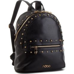 Plecak NOBO - NBAG-F2400-C020 Czarny. Czarne plecaki damskie Nobo, ze skóry ekologicznej, klasyczne. W wyprzedaży za 169.00 zł.