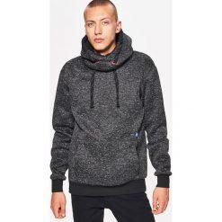 Sweter o kroju bluzy - Czarny. Swetry przez głowę męskie marki Giacomo Conti. W wyprzedaży za 89.99 zł.