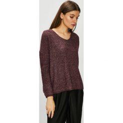 Only - Sweter. Brązowe swetry damskie Only, z dzianiny. W wyprzedaży za 119.90 zł.