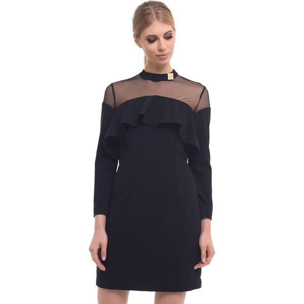 3ad8b5a8722b2b Sukienka w kolorze czarnym - Sukienki damskie Arefeva, z golfem. W ...