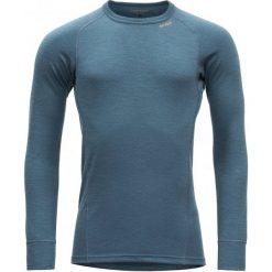 Devold Koszulka Męska Duo Active Niebieski Xxl. Niebieskie koszulki sportowe męskie Devold, z wełny, z długim rękawem. Za 265.00 zł.