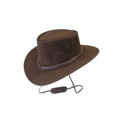 Kapelusz jeździecki Jamoo brązowy. Czapki i kapelusze damskie marki OLAIAN. W wyprzedaży za 129.99 zł.