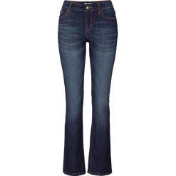 Wygodne dżinsy ze stretchem BOOTCUT bonprix ciemnoniebieski. Jeansy damskie marki bonprix. Za 74.99 zł.