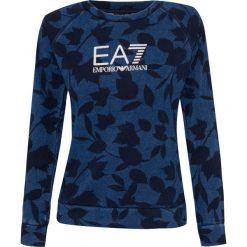 Bluza EMPORIO ARMANI EA7 Niebieski|Print. Bluzy damskie EA7 Emporio Armani. Za 196.00 zł.
