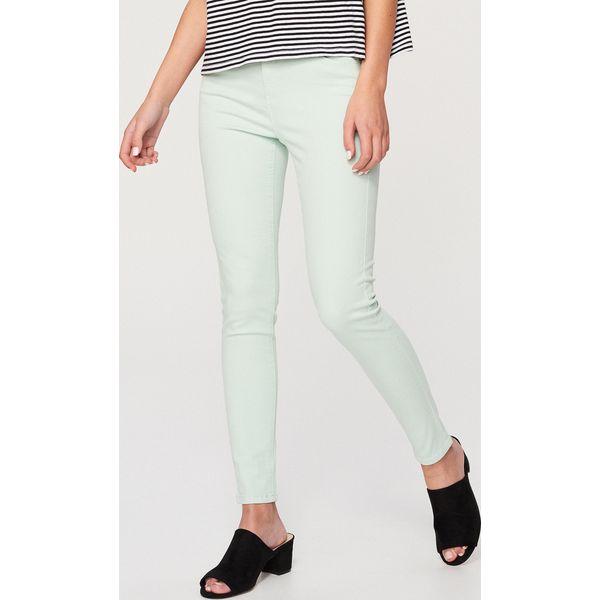 c70041d8605e Spodnie push up - Turkusowy - Spodnie materiałowe damskie marki ...