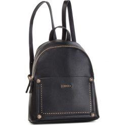 Plecak LIU JO - Backpack A19059 E0031 Nero 22222. Czarne plecaki damskie Liu Jo, ze skóry ekologicznej, klasyczne. Za 599.00 zł.