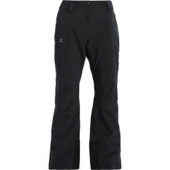 Salomon ICEMANIA  Spodnie narciarskie black. Spodnie snowboardowe damskie Salomon, z elastanu, sportowe. W wyprzedaży za 687.20 zł.