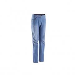 Spodnie wspinaczkowe JEAN2 USED damskie. Spodnie materiałowe damskie marki DOMYOS. Za 149.99 zł.