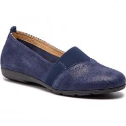 Półbuty CAPRICE - 9-24650-22 Blue Jeans Sue 802. Niebieskie półbuty damskie Caprice, z jeansu. Za 199.90 zł.