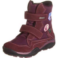 """Botki """"Limaxx"""" w kolorze bordowym. Botki dziewczęce Zimowe obuwie dla dzieci. W wyprzedaży za 165.95 zł."""
