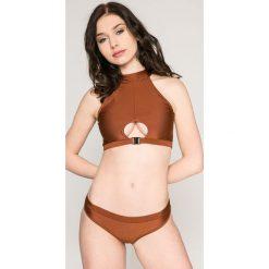Answear - Strój kąpielowy Stella. Szare bikini damskie ANSWEAR. W wyprzedaży za 39.90 zł.