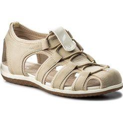 Sandały GEOX - D Sand.Vega D D62R6D 0EK15 C5016 Beige. Sandały dziewczęce Geox, z materiału. W wyprzedaży za 299.00 zł.