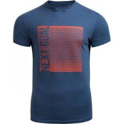 T-shirt męski TSM610 - GRANATOWY - Outhorn. Niebieskie t-shirty męskie Outhorn, na jesień, z bawełny. W wyprzedaży za 27.99 zł.