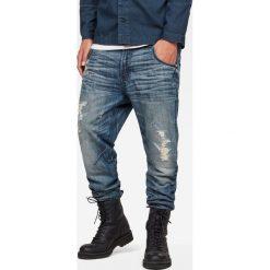 G-Star Raw - Jeansy Arc. Niebieskie jeansy męskie G-Star Raw. W wyprzedaży za 449.90 zł.