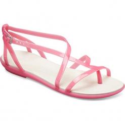 """Japonki """"Isabella Gladiator"""" w kolorze różowym. Czerwone klapki damskie Crocs. W wyprzedaży za 108.95 zł."""