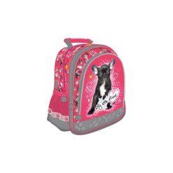 Plecak St. Majewski My Litle Friend PIES szkolny. Różowe torby i plecaki dziecięce St-Majewski, z materiału. Za 61.13 zł.