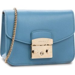 Torebka FURLA - Metropolis 962520 B BGZ7 ARE Veronica e. Niebieskie torebki do ręki damskie Furla, ze skóry. Za 1,125.00 zł.