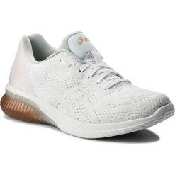 Buty ASICS - Gel-Kenun Mx T888N White/White/Apricot Ice 0101. Białe obuwie sportowe damskie Asics, z materiału. W wyprzedaży za 399.00 zł.
