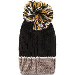 Czapka TWINSET - Cuffia OA8T8L  Mul. Righe Nero 03329. Czarne czapki i kapelusze damskie Twinset, z materiału. Za 219.00 zł.