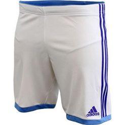 Adidas Spodenki Volzo15 biało-niebieskie r. XL (S08941). Krótkie spodenki sportowe męskie Adidas, sportowe. Za 31.60 zł.