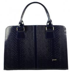Grosso Bag Torebka Damska Ciemnoniebieski. Czarne torebki do ręki damskie Grosso Bag, ze skóry. Za 195.00 zł.