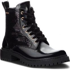 Trapery PEPE JEANS - Collie Sequins PLS50340 Black 999. Czarne śniegowce i trapery damskie Pepe Jeans, z jeansu. Za 379.00 zł.