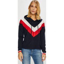 Only - Sweter Elcos. Szare swetry damskie Only, z dzianiny, z kapturem. Za 119.90 zł.
