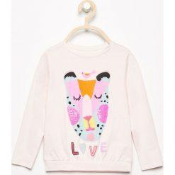 Koszulka z cekinową aplikacją - Różowy. T-shirty damskie marki bonprix. W wyprzedaży za 14.99 zł.