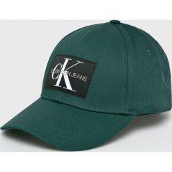 Calvin Klein Jeans - Czapka. Szare czapki i kapelusze męskie Calvin Klein Jeans. Za 139.90 zł.