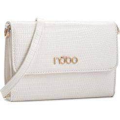 Torebka NOBO - NBAG-C3601-C000  Biały. Białe listonoszki damskie Nobo, ze skóry ekologicznej. W wyprzedaży za 109.00 zł.