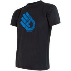 Sensor Koszulka Coolmax Fr Pt Hand Black M. Czarne koszulki sportowe męskie Sensor, bez rękawów. W wyprzedaży za 115.00 zł.