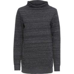 Długa bluza z kieszeniami bonprix czarno-biały melanż. Bluzy damskie marki MAKE ME BIO. Za 59.99 zł.