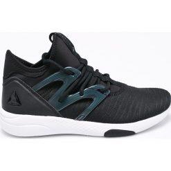Reebok - Buty. Czarne obuwie sportowe damskie Reebok, z gumy. W wyprzedaży za 269.90 zł.