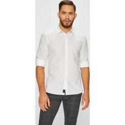 Pepe Jeans - Koszula. Szare koszule męskie Pepe Jeans, z bawełny, z klasycznym kołnierzykiem, z długim rękawem. Za 279.90 zł.