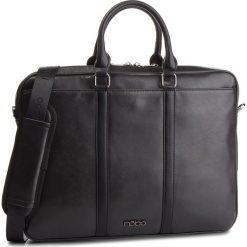 Torba na laptopa NOBO - NBAG-MF0150-C020 Czarny. Czarne torby na laptopa damskie Nobo, ze skóry ekologicznej. W wyprzedaży za 229.00 zł.