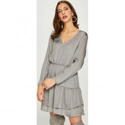 Pepe Jeans - Sukienka Rufina. Szare sukienki damskie Pepe Jeans, z jeansu, casualowe. Za 379.90 zł.