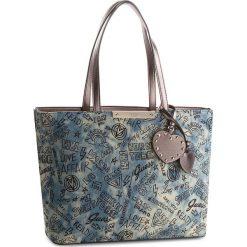 Torebka GUESS - HWDG66 93230  DEN. Niebieskie torebki do ręki damskie Guess, z materiału. Za 589.00 zł.