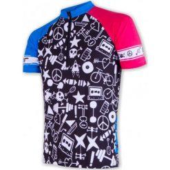Sensor Męska Koszulka Rowerowa Cyklo Priority Black. Czarne koszulki sportowe męskie Sensor, z krótkim rękawem. Za 189.00 zł.