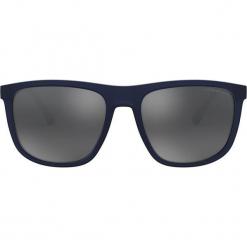 Emporio Armani - Okulary 0EA4124. Brązowe okulary przeciwsłoneczne męskie Emporio Armani, z materiału. Za 519.90 zł.