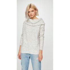 Medicine - Sweter Basic. Szare swetry damskie MEDICINE, z dzianiny. W wyprzedaży za 79.90 zł.