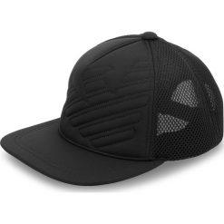 Czapka z daszkiem EMPORIO ARMANI - 627506 8A556 00020 Black. Czarne czapki i kapelusze męskie Emporio Armani. W wyprzedaży za 239.00 zł.