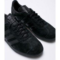 Adidas Originals - Buty Gazelle. Czarne buty sportowe męskie adidas Originals, z materiału. W wyprzedaży za 323.91 zł.