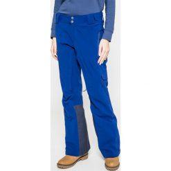 Columbia - Spodnie snowboardowe Powder Keg. Brązowe spodnie materiałowe damskie Columbia, z elastanu. W wyprzedaży za 639.90 zł.