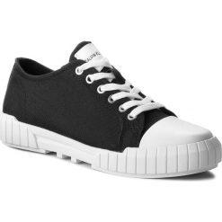 Trampki CALVIN KLEIN JEANS - Beato S1748 Black. Czarne trampki męskie Calvin Klein Jeans, z gumy. Za 519.00 zł.