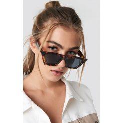 NA-KD Accessories Okulary przeciwsłoneczne kocie oczy - Brown. Okulary przeciwsłoneczne damskie marki QUECHUA. Za 60.95 zł.