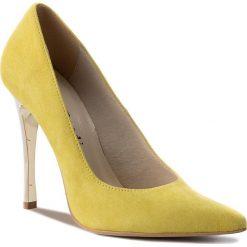 Szpilki SERGIO BARDI - Alcara SS127350118FF  252. Żółte szpilki damskie Sergio Bardi, ze skóry. W wyprzedaży za 179.00 zł.