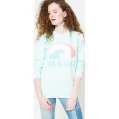Femi Pleasure - Bluza. Szare bluzy damskie Femi Stories, z nadrukiem, z bawełny. W wyprzedaży za 99.90 zł.