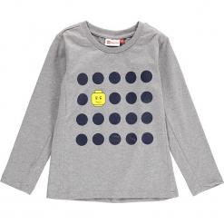 """Koszulka """"Thomas 712"""" w kolorze szarym. Zielone t-shirty dla chłopców marki Lego Wear Fashion, z bawełny, z długim rękawem. W wyprzedaży za 49.95 zł."""
