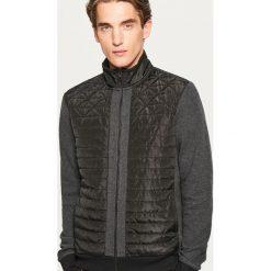 394915c985863 Bluza z pikowanym przodem - Czarny. Bluzy męskie marki Reserved. W  wyprzedaży za 59.99