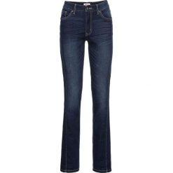 Miękkie dżinsy ze stretchem STRAIGHT bonprix ciemnoniebieski. Jeansy damskie marki bonprix. Za 109.99 zł.